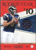 2011 Panini Timeless Treasures Rookie Year Materials #10 Sam Bradford /99
