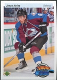 2010/11 Upper Deck 20th Anniversary Variation #463 Jonas Holos YG