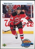 2010/11 Upper Deck 20th Anniversary Variation #477 Mark Fayne YG