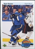 2010/11 Upper Deck 20th Anniversary Variation #493 Ryan Reaves YG