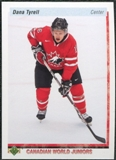 2010/11 Upper Deck 20th Anniversary Variation #536 Dana Tyrell CWJ RC