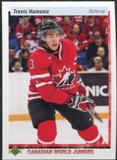 2010/11 Upper Deck 20th Anniversary Parallel #540 Travis Hamonic CWJ