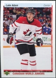2010/11 Upper Deck 20th Anniversary Variation #543 Luke Adam CWJ