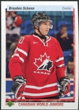 2010/11 Upper Deck 20th Anniversary Parallel #544 Brayden Schenn CWJ