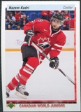 2010/11 Upper Deck 20th Anniversary Variation #547 Nazem Kadri CWJ RC