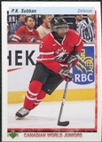 2010/11 Upper Deck 20th Anniversary Variation #548 P.K. Subban CWJ