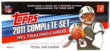 2011 Topps Factory Set Football (Box) Set - Cam Newton RC!