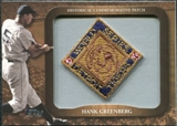 2009 Topps Legends Commemorative Patch #LPR108 Hank Greenberg