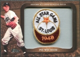 2009 Topps Legends Commemorative Patch #LPR109 Pee Wee Reese
