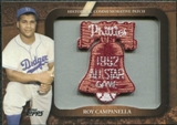 2009 Topps Legends Commemorative Patch #LPR115 Roy Campanella