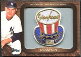 2009 Topps Legends Commemorative Patch #LPR116 Johnny Mize