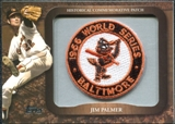 2009 Topps Legends Commemorative Patch #LPR129 Jim Palmer