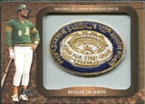 2009 Topps Legends Commemorative Patch #LPR132 Reggie Jackson