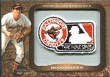 2009 Topps Legends Commemorative Patch #LPR136 Brooks Robinson