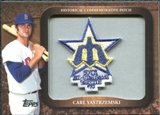 2009 Topps Legends Commemorative Patch #LPR140 Carl Yastrzemski