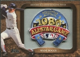 2009 Topps Legends Commemorative Patch #LPR145 Wade Boggs