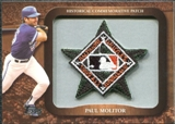 2009 Topps Legends Commemorative Patch #LPR148 Paul Molitor