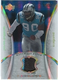 2007 Upper Deck Trilogy Materials Patch Hologold #JP Julius Peppers /33