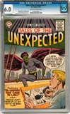 Tales of the Unexpected #1 CGC 6.0 (OW-W) *1201021001*