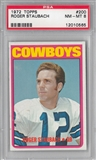 1972 Topps Football Roger Staubach PSA 8 (NM-MT) *0565
