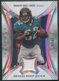 2007 Upper Deck Trilogy Sunday Best Jersey Patch #MJ Maurice Jones-Drew 72/79