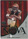 2007 Upper Deck Trilogy Supernova Swatches Silver #KI Kenny Irons /199