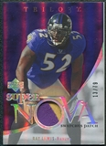 2007 Upper Deck Trilogy Supernova Swatches Patch #RL Ray Lewis 13/79