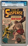 Tales of Suspense #40 CGC 7.5 (OW-W) *1203293001*