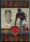 2007 Upper Deck Artifacts Antiquity Artifacts Patch #PE Jhonny Peralta 43/50
