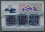 2009 Topps Triple Threads Stephen McGee Rookie Jersey Auto Printing Plate #1/1