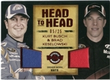 2010 Press Pass Wheels Main Event Head to Head Red #HHKBBK Kurt Busch Brad Keselowski 5/25