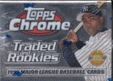 1999 Topps Chrome Traded & Rookies Baseball Factory Set (Josh Hamilton Rookie!!!)