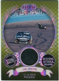 2011 Press Pass Burning Rubber Holofoil #BRCCE Carl Edwards Phoenix 19/50 Tire