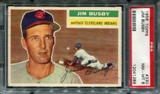 1956 Topps Baseball #330 Jim Busby PSA 8 (NM-MT) *1289