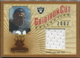 2002 Donruss Gridiron Kings Gridiron Cut Collection #GC84 Tim Brown Jersey /400