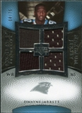 2007 Upper Deck Exquisite Collection Maximum Jersey Silver #DJ2 Dwayne Jarrett /75