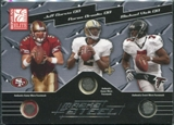 2003 Donruss Elite Masks of Steel #MS35 Michael Vick Aaron Brooks Jeff Garcia 7/25