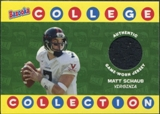 2004 Topps Bazooka College Collection Jerseys #BCCMS Matt Schaub