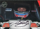 2012 Press Pass Autographs Silver #PPATB1 Trevor Bayne Autograph 12/35