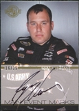 2011 Press Pass Wheels Main Event Marks Autographs Gold #MERN Ryan Newman 16/25