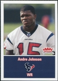 2003 Fleer Tradition #277 Andre Johnson RC