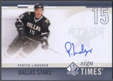 2010/11 SP Authentic #SOTPL Perttu Lindgren Sign of the Times Auto