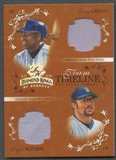2003 Diamond Kings Team Timeline #5 Tony Gwynn & Ryan Klesko Jersey #008/100