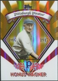 2009 Topps Legends Chrome Target Cereal Gold Refractors #GR14 Honus Wagner