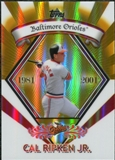 2009 Topps Legends Chrome Target Cereal Gold Refractors #GR17 Cal Ripken Jr