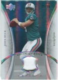 2007 Upper Deck Trilogy Materials Patch #JB John Beck /79