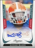 2011 Panini Prestige Draft Picks Rights Autographs #204 Ahmad Black /699