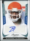 2011 Panini Prestige Draft Picks Rights Autographs #231 DeAndre McDaniel /1499