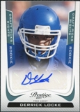 2011 Panini Prestige Draft Picks Rights Autographs #235 Derrick Locke /1499