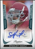 2011 Panini Prestige Draft Picks Rights Autographs #290 Stanley Havili /699